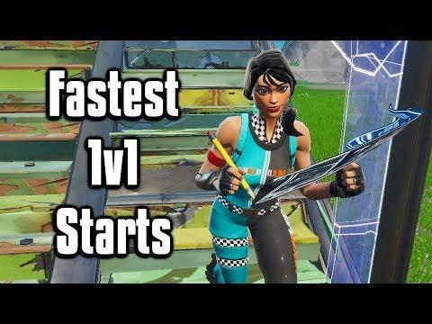 Fastest 1v1 Starts In Fortnite Creative! - Get Instant Highground!