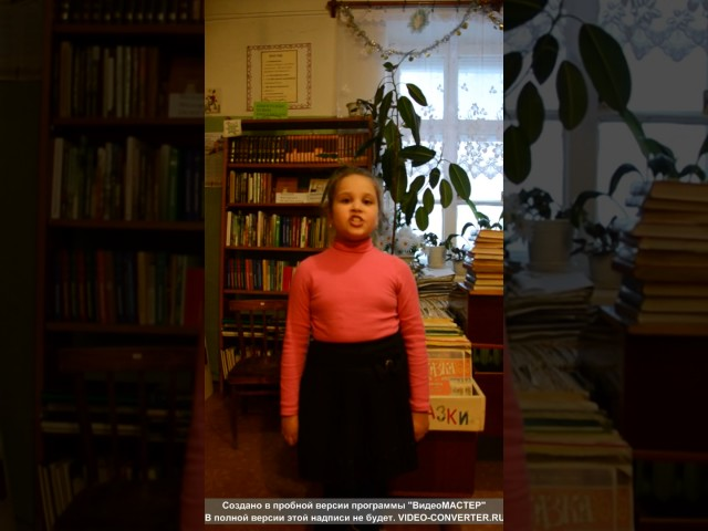 Изображение предпросмотра прочтения – АнгелинаРусинова читает произведение «Стрекоза и Муравей» И.А.Крылова