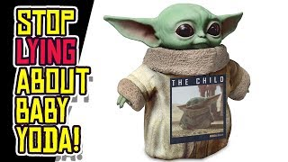 Baby Yoda Merchandise WASN'T Planned. C'mon Disney!