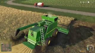 JohnDeere T560 w Akcji E6 | Farming Simulator 19