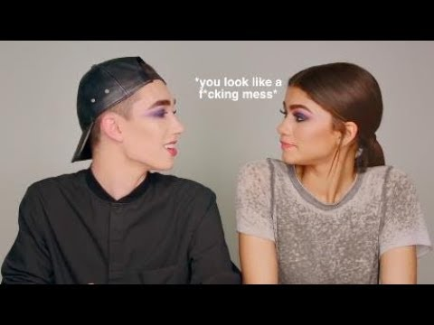 zendaya lying to james charles for 2 minutes straight