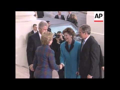USA: GEORGE W BUSH INAUGURATION LATEST