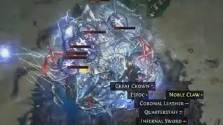 [Path of Exile] Lv83 Frozen Orb Sorc vs Lv75 Fleet Plateau or: Bloodlines Devourers are fun!