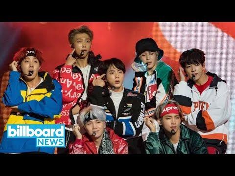 BTS Release New Track 'Crystal Snow' | Billboard News