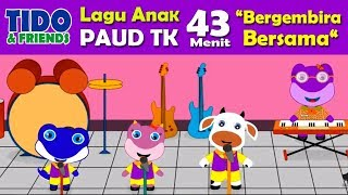 Lagu Anak : Album Bergembira Bersama 43 Menit - Lagu Pendidikan PAUD TK - Lagu Anak Terbaru 2018