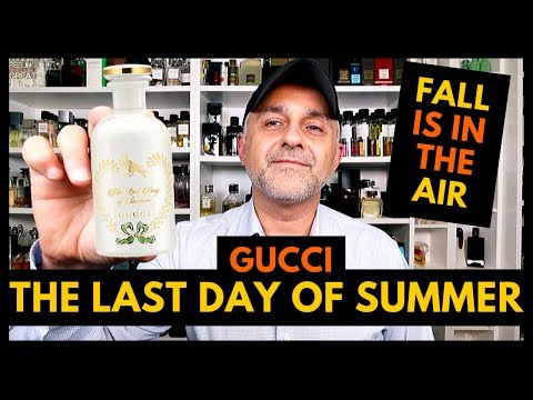 Gucci The Last Day Of Summer Fragrance Review | 2 Decants USA Giveaway 🍂 🍁