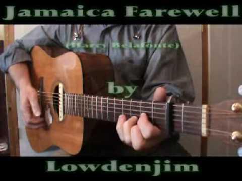 Jamaica Farewell Harry Belafonte Cover Youtube