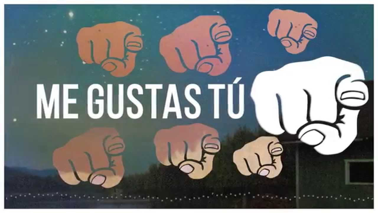 Lucah Me Gustas Tú Lyric Video Youtube