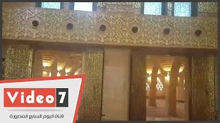 ننشر أول فيديو لمسجد الصحابة بشرم الشيخ قبيل افتتاحه بحضور وزير الأوقاف