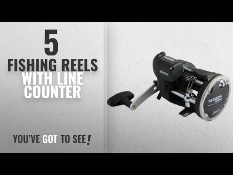 Top 10 Fishing Reels With Line Counter [2018]: Okuma Magda Pro Line Counter Levelwind Trolling Reel,