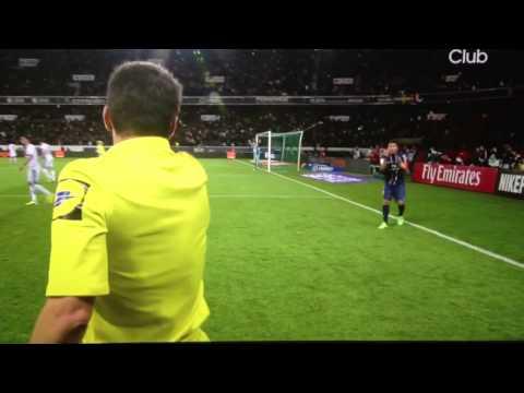 Gol INCREDIBILE di Thiago Silva annullato (21/04/2013 PSG 3 - 0 OGC Nice)