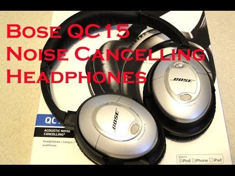 Bose QC15 Noise Cancelling Headphone Unboxing HD