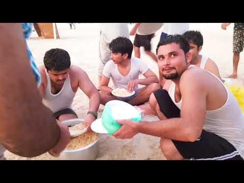 jumeirah Beach dubai 2020 with cousins and Friends 1440p