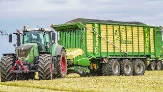 FENDT Traktoren | GPS Häckseln mit Lohnunternehmen Jumpers | Neuer CLAAS Jaguar 980