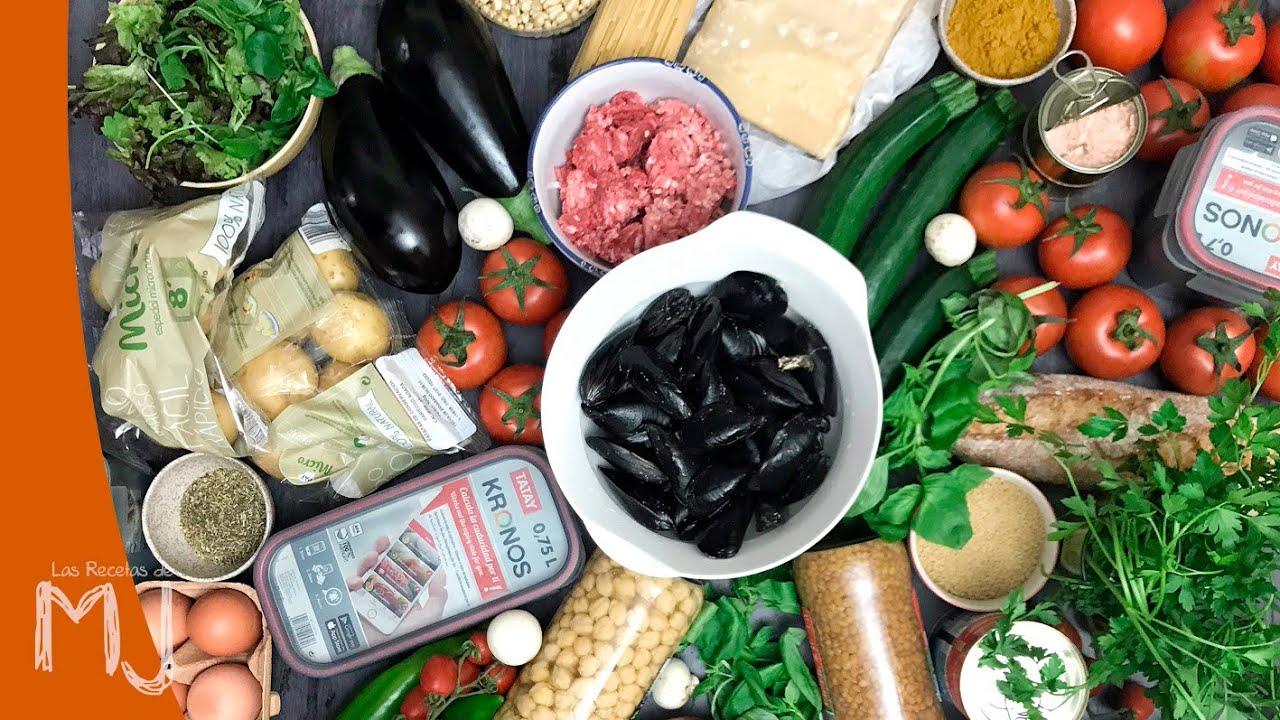 receta semanal comida sana