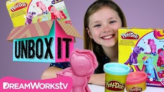 How to Make MLP Playdough Make N' Style Ponies with TheMalWeb | UNBOX IT