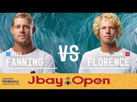 John John Florence vs. Mick Fanning - J-Bay Open 2016 Final