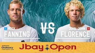 John John Florence vs. Mick Fanning - J-Bay Open 2016 Final
