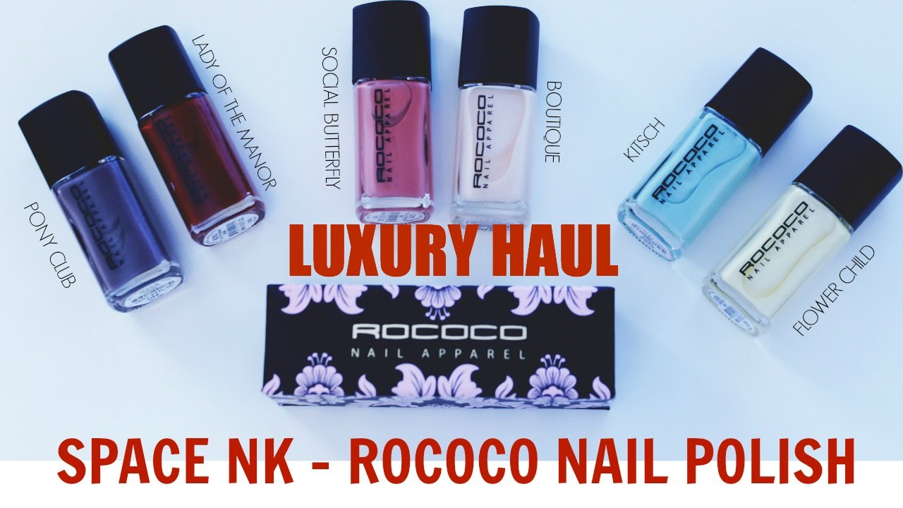 Rococo Luxury Nail Polish Review Video I ByBare - YouTube