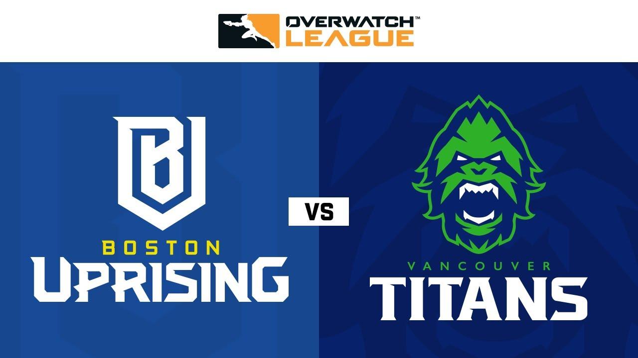 Boston Uprising vs Vancouver Titans | Semaine 26 | NA Jour 3