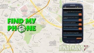 Find My Phone para Android - Encuentra tu dispositivo extraviado