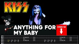 Kiss - Anything For My Baby (Guitar Cover by Masuka W/Tab)
