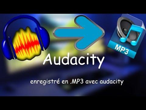 [Windows|Mac]  Tutoriel Audacity - Comment enregistrer un fichier en .MP3 ? [FR]