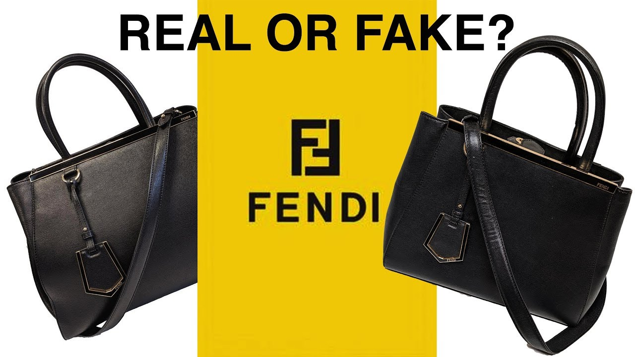 Real Or Fake Fendi 2jours My Closet