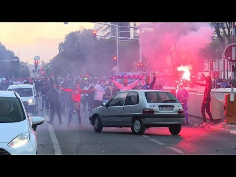 afpes: Diez hinchas del Marsella detenidos antes del  'Clásico'