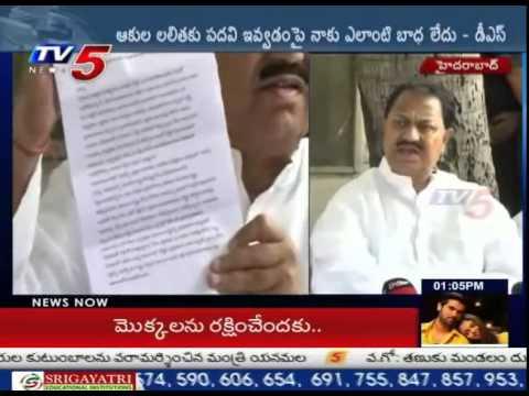 Telangana Credit Goes to CM KCR only - D.Srinivas : TV5 News