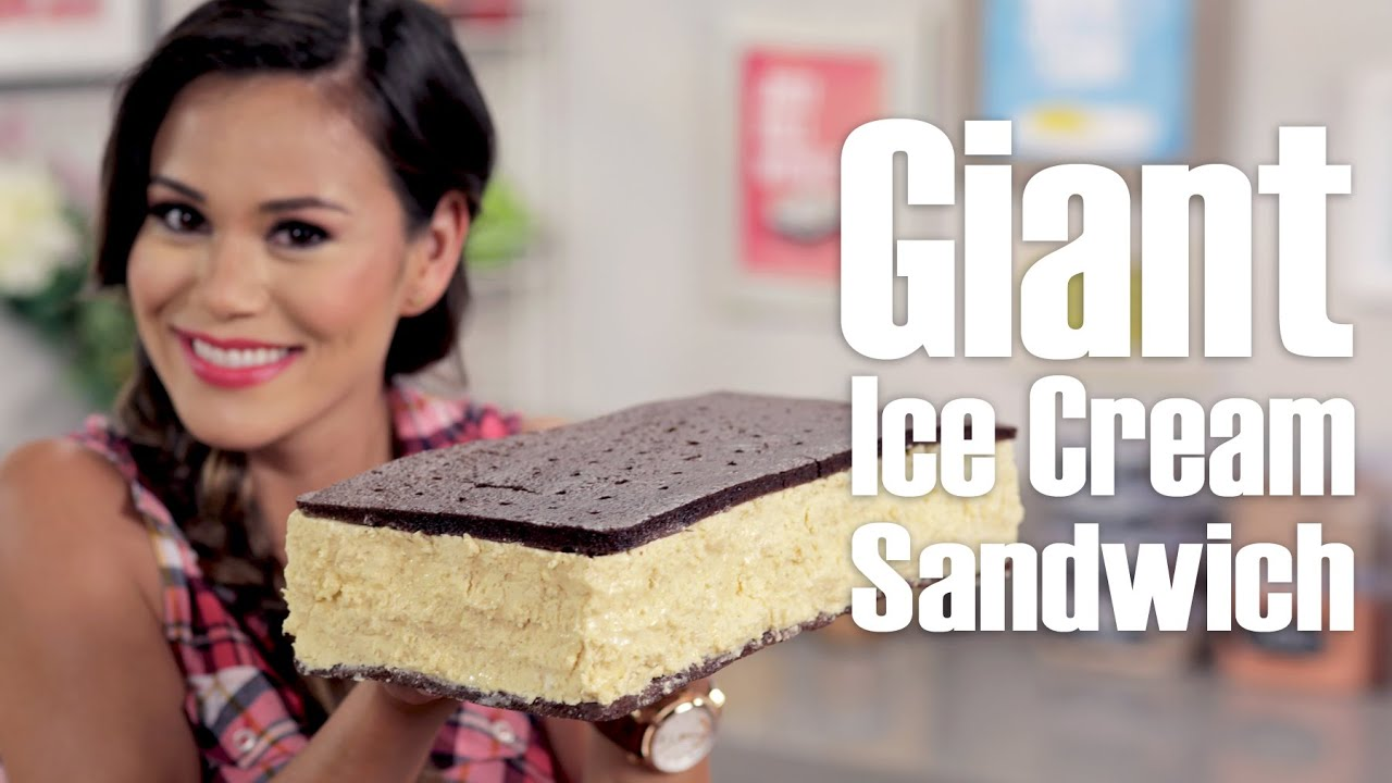 Giant ice cream sandwich eat the trend youtube ccuart Gallery
