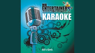 I Just Don't Know What to Do with Myself (In the Style of Dusty Springfield) (Karaoke Version)
