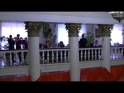 Детский духовой оркестр. г. Кушва
