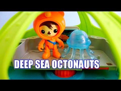 OCTONAUTS Launch & Explore Deep Sea Octo-Lab Demo Fischer Price Episode Kid's Toys Dobertot