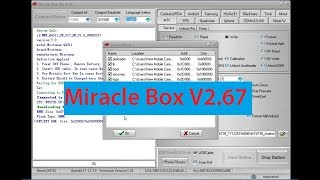 Download Miracle Box Latest Setup by Jauns Mobile