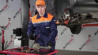 Draagarm wielophanging veranderen BMW X5: werkplaatshandboek