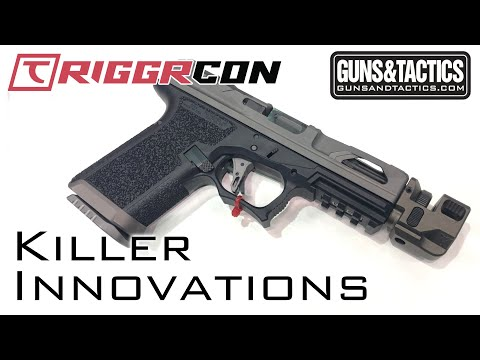 [Triggrcon 2019] Awesome Glock Slides and mag extensions from Killer Innovations