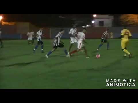 Trechos da partida Real 1 x 1 Santo Estevão pela Copa da Juventude 2019