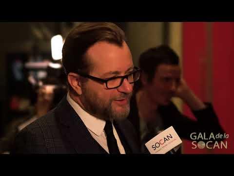 Luc De Larochellière, trois Classiques de la SOCAN au Gala de la SOCAN 2017