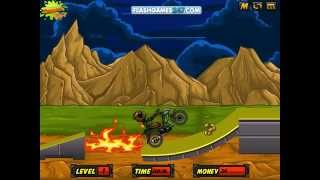Motorcycle  Byke Race video game for children to play free online dora the explorer baby hazel