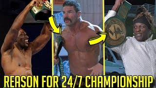 5 Reasons Why WWE Unveiled the 24/7 Championship!