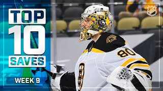 Top 10 Saves from Week 9 | 2021 NHL Season