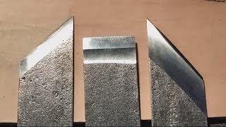 как сделать сапожный нож, нож косяк, брусовочный нож