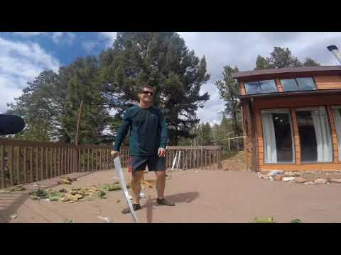 HEMA longsword and zweihander cutting video