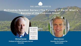 Harvard professor and author Michael Sandel on the governing elites