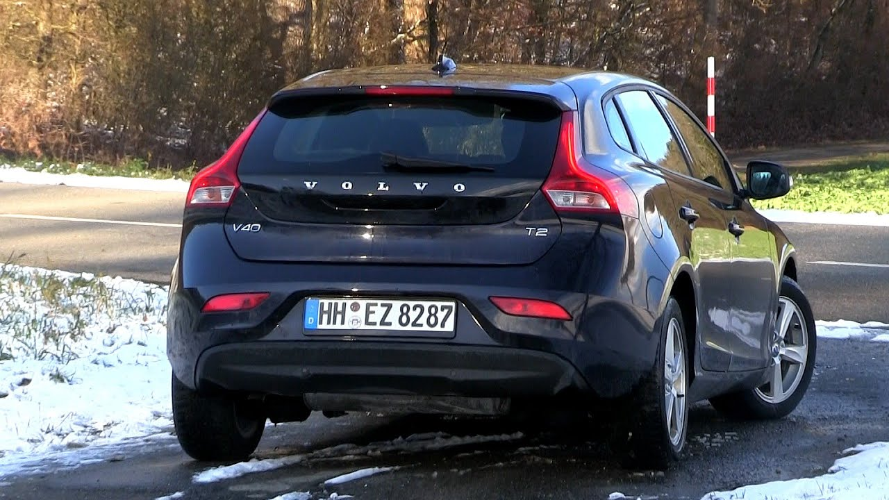 2016 Volvo V40 T2 (122 HP) Test Drive - YouTube