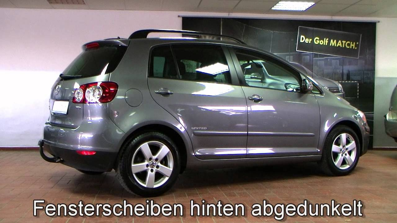 volkswagen golf plus 1 9 tdi united 2007 united grey. Black Bedroom Furniture Sets. Home Design Ideas