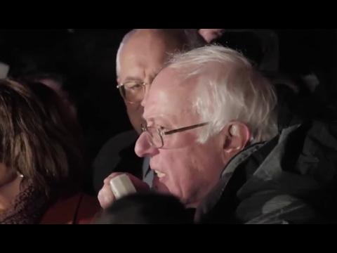 Bernie RAGES Against Muslim Ban Outside Supreme Court