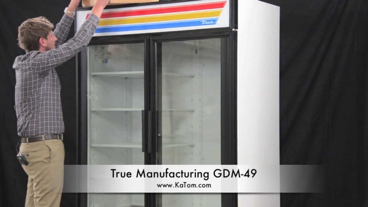 4 Light Ballast Wiring Diagram True Manufacturing Gdm 49 Youtube