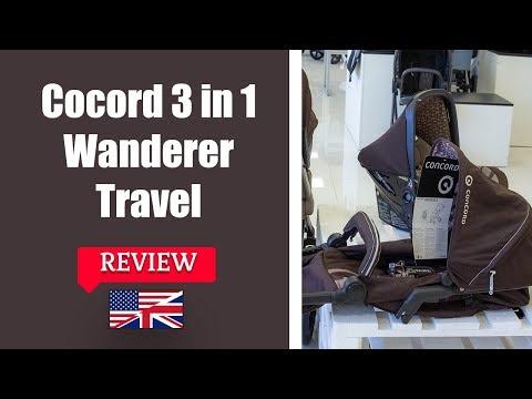 3 In 1 Concord Wanderer Travel Set - Stroller FULL Review